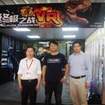 亞洲最大遊樂盛會AAA展:玖的聯手VR Jump發布新品「終極之戰」