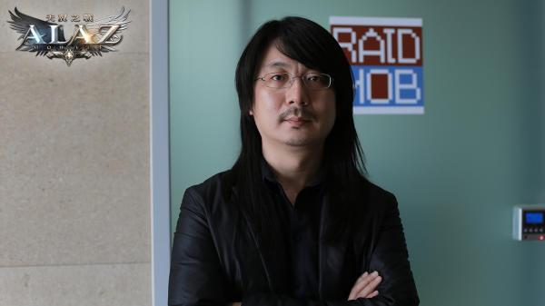 圖11-《ALAZ天翼之戰》研發總監池龍燦2012年一手創立RAIDMOB遊戲開發公司