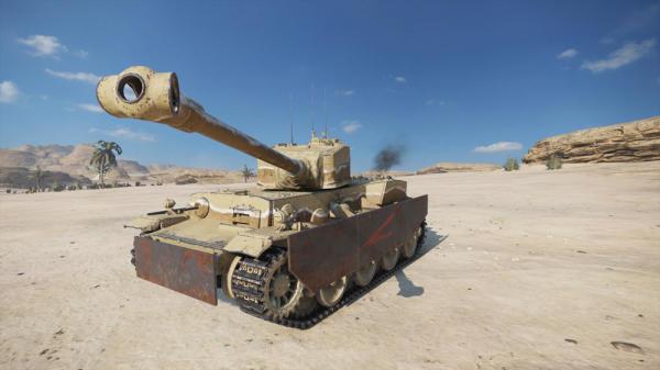 World of Tanks Mercenaries - Longreach (Tier6HeavyTank)