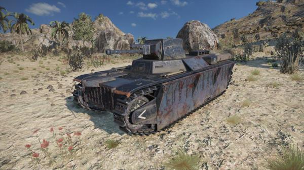 World of Tanks Mercenaries - Tresher (Tier3LightTank)
