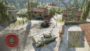 World of Tanks Mercenaries - NewHealthbars 1