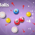 《合成撞球》(Merge Balls),好玩到爆的消除小遊戲,快來試試吧