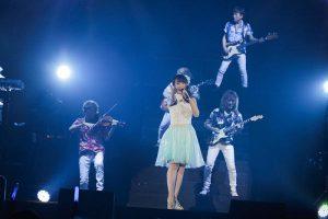 水樹奈奈於29日台北演唱會上,首次公開演唱《軒轅劍‧蒼之曜》片頭曲