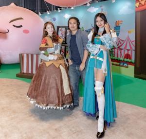 RO劍士、主教與卡普拉姊姊與玩家開心合照