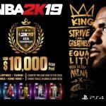 2K宣佈《NBA 2K19》亞洲盃錦標賽相關事宜  資格賽11月開打、總決賽明年3月舉行