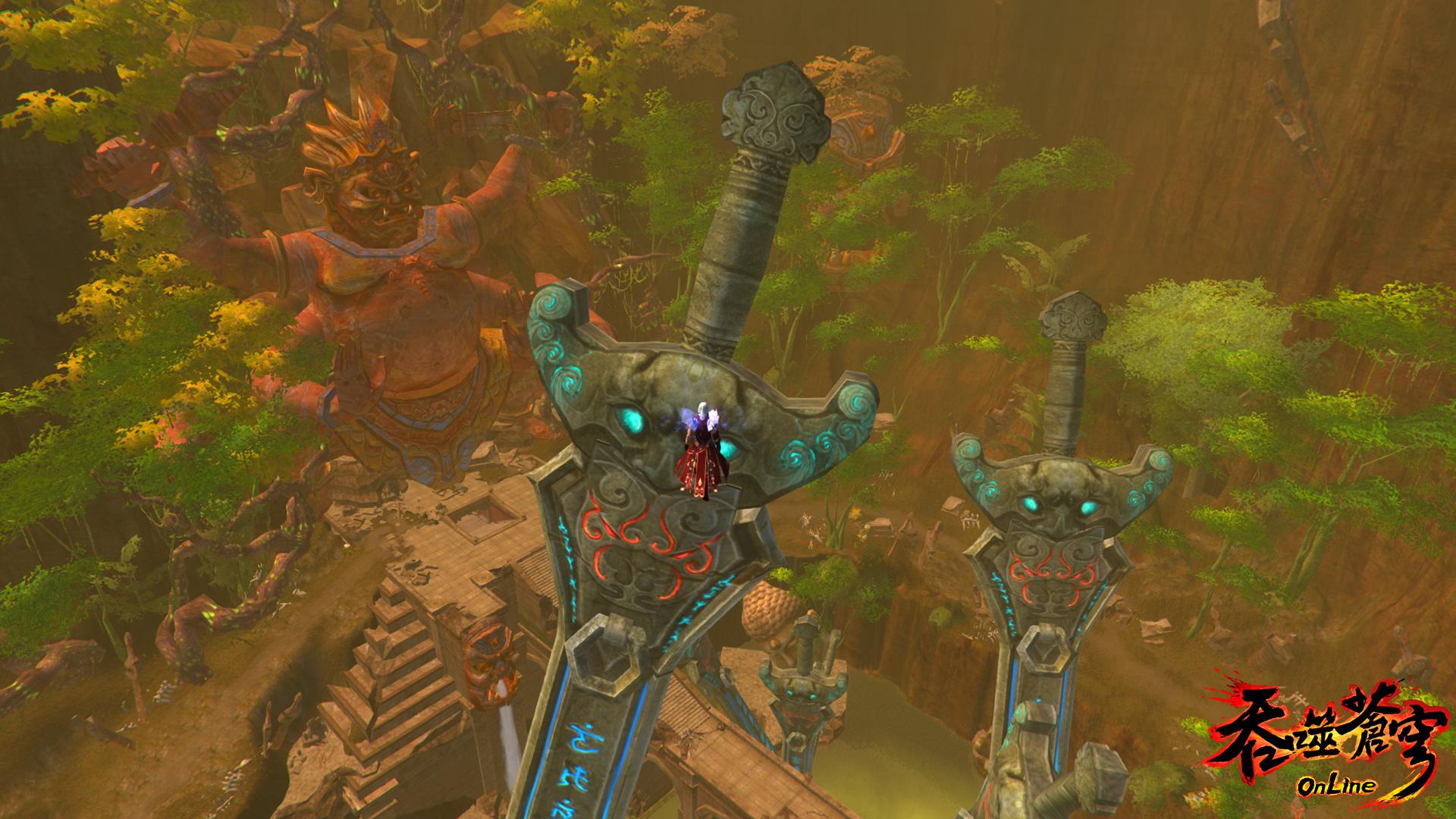 《吞噬蒼穹Online》陣營攻防全面開戰!現在加入直升40等!