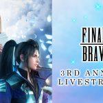 SQUARE ENIX正式揭露新手機遊戲並預告《FINAL FANTASY BRAVE EXVIUS》3週年直播活動