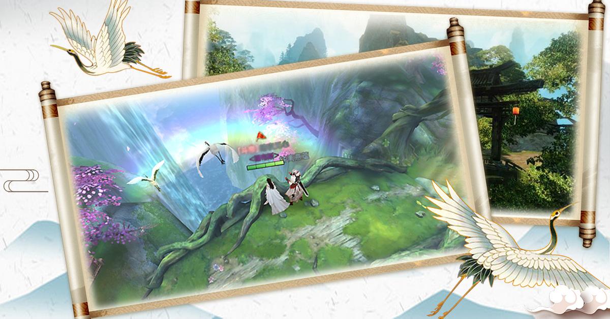 首款大世界觸發式奇遇追愛MMO 《築夢九州》為愛追尋之旅正式開啟。