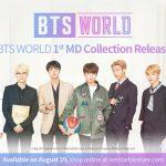 全新《BTS WORLD》系列周邊商品  網石網路商城8月29日正式開賣
