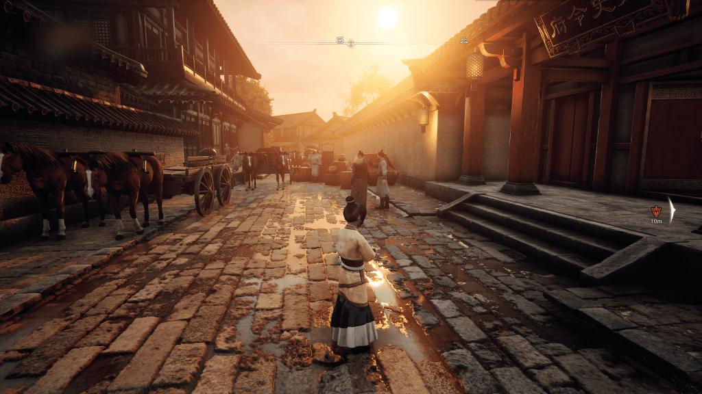 圖三_夕陰街-未開啟RTX的遊戲畫面