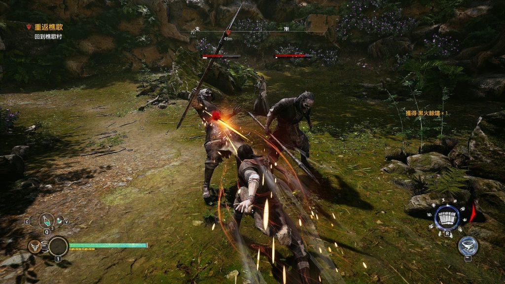 圖八_試玩版小怪戰鬥畫面