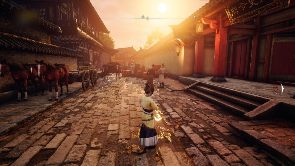 圖四_夕陰街-開啟RTX後的遊戲畫面