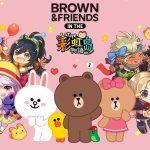 可愛聯萌!《彩虹島物語Online》宣布與 LINE FRIENDS 人氣角色 BROWN & FRIENDS 聯名合作 將推出熊大、兔兔、莎莉等角色道具