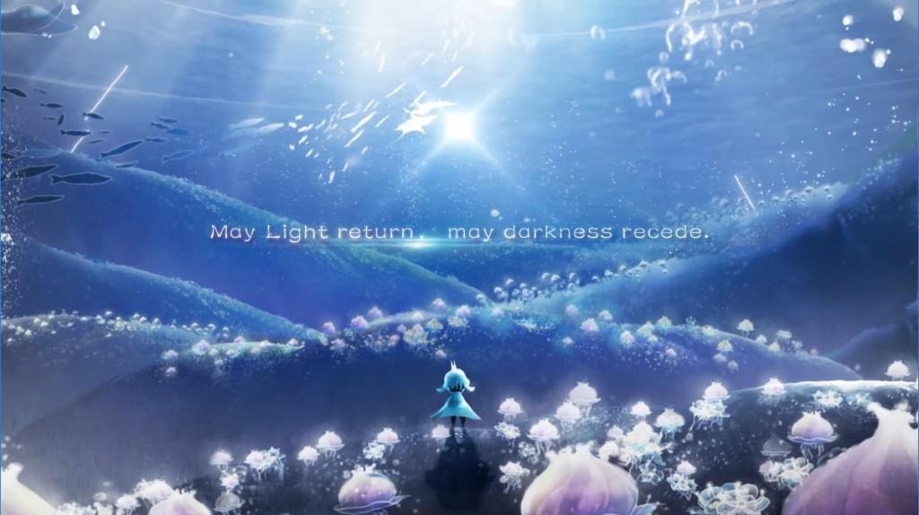 圖4:光明復現 驅散黑暗